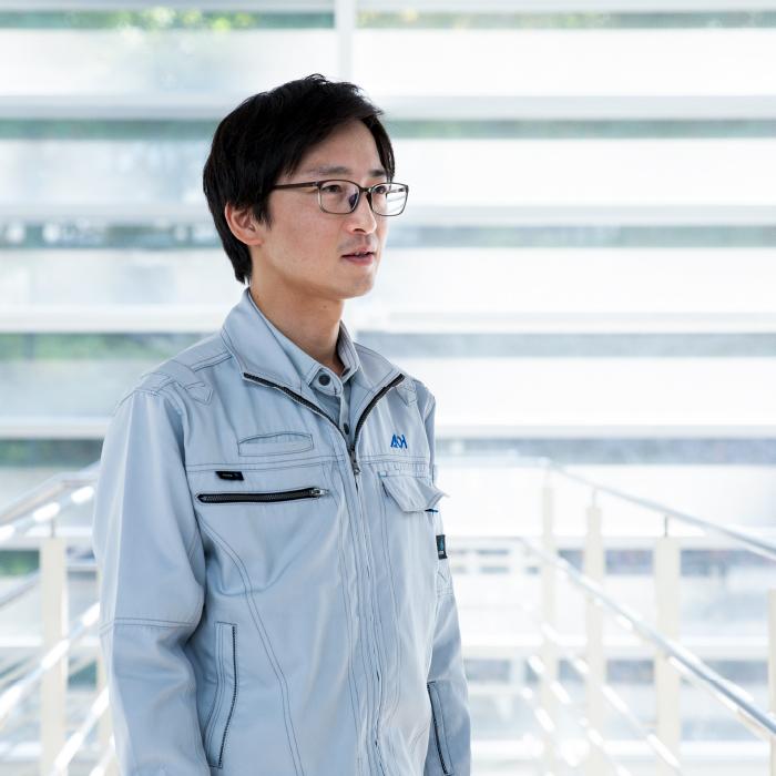 工事部・係長 齋藤 亘宏 2017年入社 水戸市出身